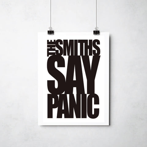 Smiths print by Ray Lancaster