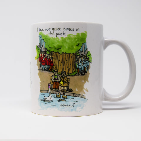 Peaceful Day in the Park Mug