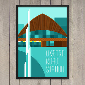 Oxford Road Station Print - Stanley Chow & StudioDBD
