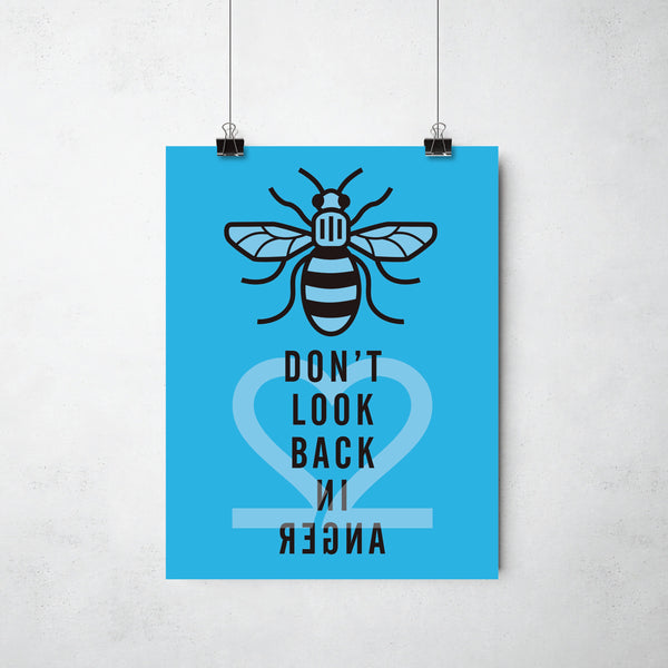 22 Bees Print (Multiple Colours Available) by This Charming Manc
