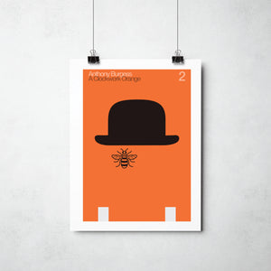 Anthony Burgess Print by This Charming Manc