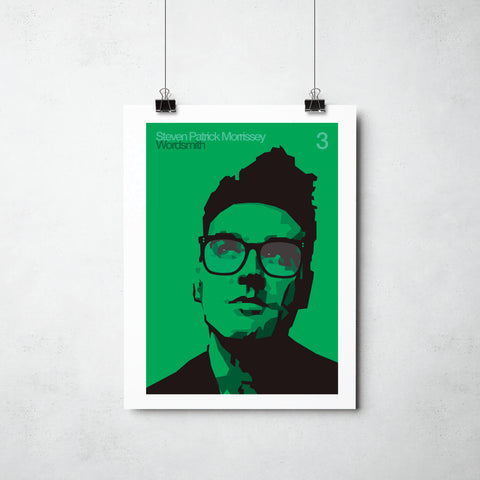 Steven Patrick Morrissey print by This Charming Manc