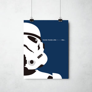 Storm Trooper print by ThisCharmingManc.com