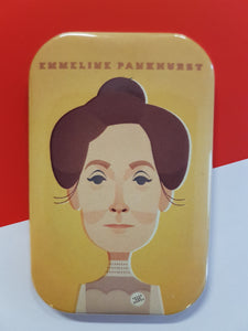 Emmeline Pankhurst Magnet - Great Northerners by Stanley Chow