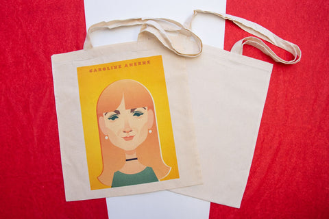 Caroline Aherne Tote Designed by Stanley Chow