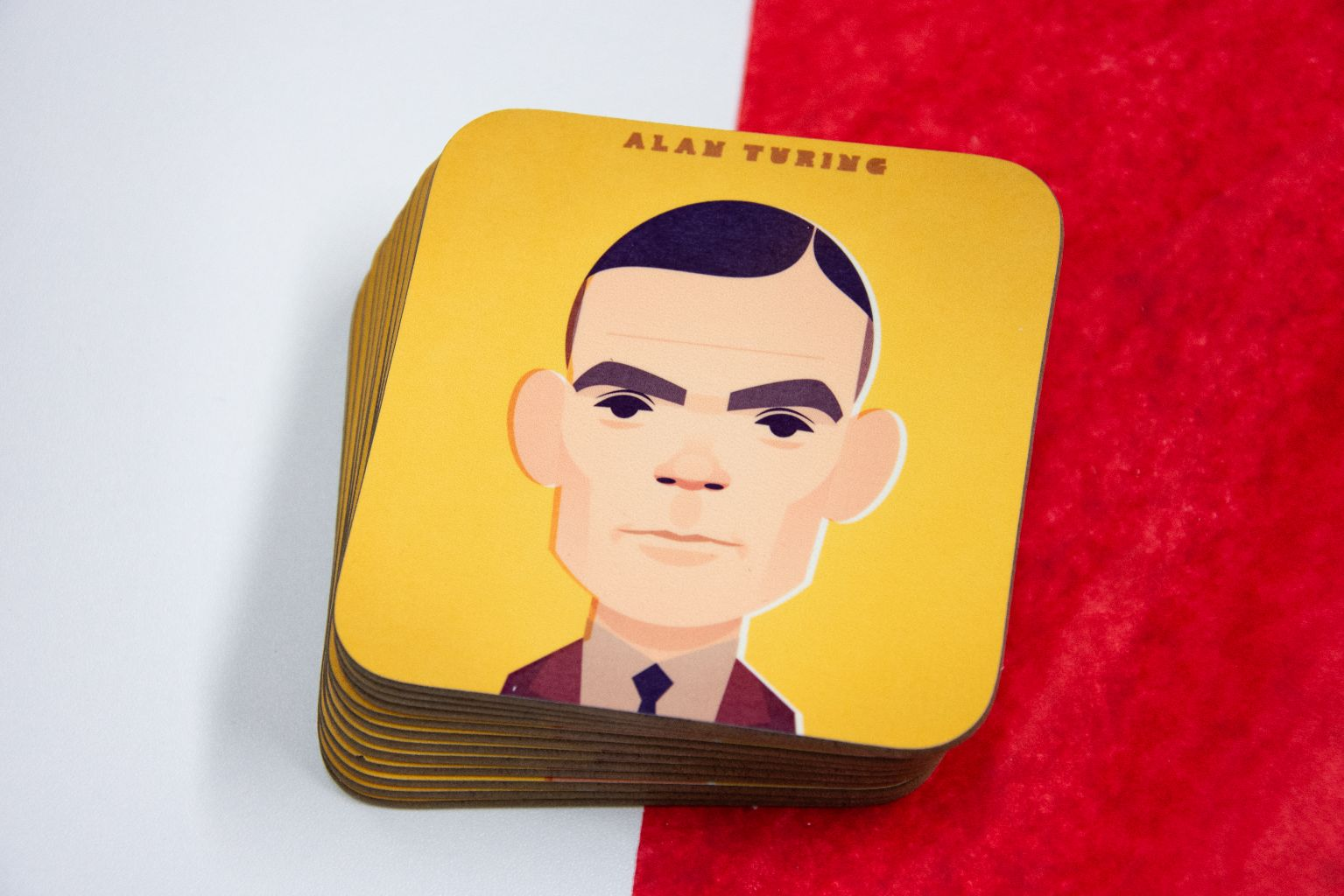 Alan Turing Coaster - Great Northerners by Stanley Chow