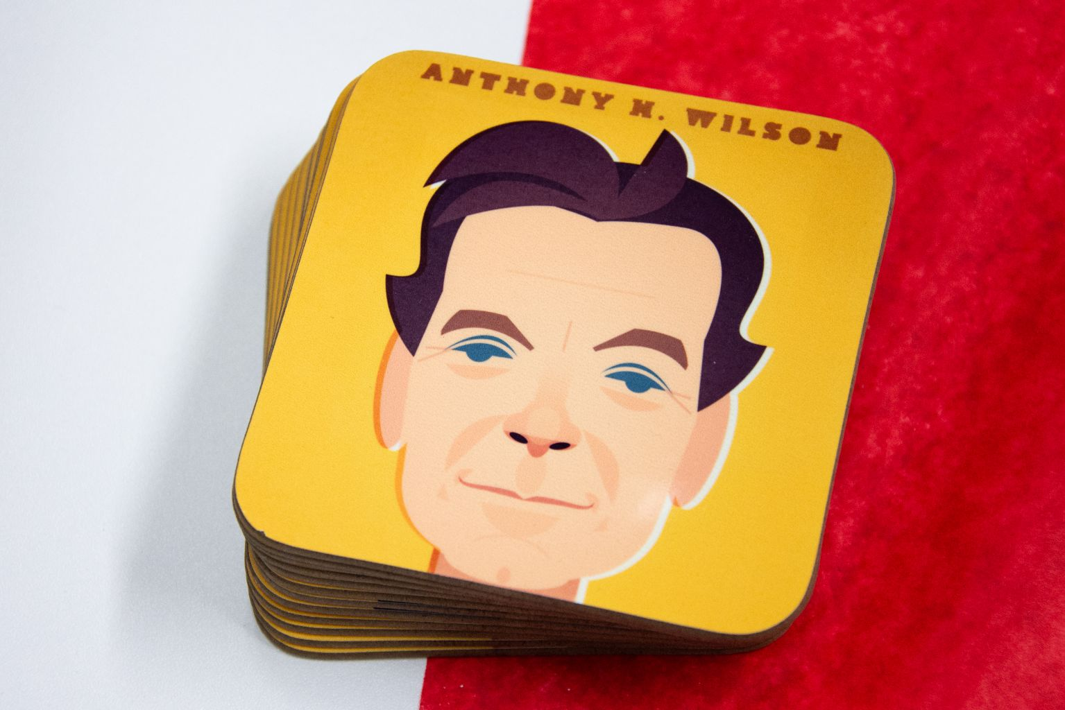 Anthony H Wilson Coaster Designed by Stanley Chow
