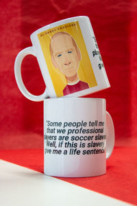 Sir Bobby Charlton Mug designed by Stanley Chow