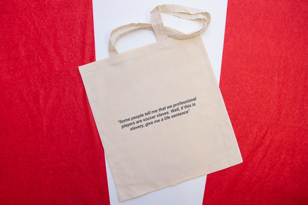 Sir Bobby Charlton Tote Designed by Stanley Chow