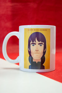 Liam Gallagher Mug designed by Stanley Chow