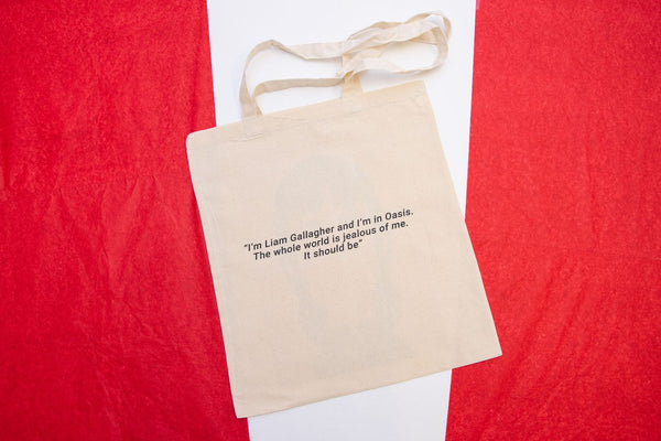 Liam Gallagher Tote Designed by Stanley Chow