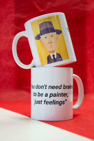LS Lowry Mug - Great Northerners by Stanley Chow