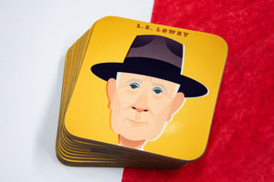 LS Lowry Coaster - Great Northerners by Stanley Chow