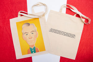 Sir Ian McKellen Tote Designed by Stanley Chow