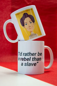 Emmeline Pankhurst Mug - Great Northerners by Stanley Chow