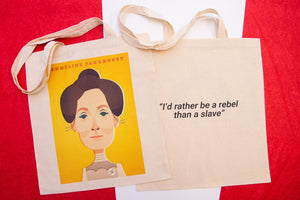 Emmeline Pankhurst Tote Designed by Stanley Chow
