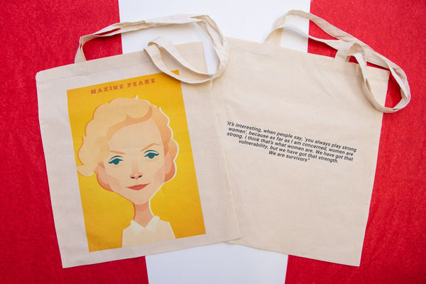 Maxine Peake Tote Designed by Stanley Chow