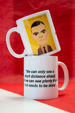 Alan Turing Mug - Designed by Stanley Chow