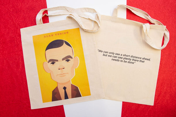 Alan Turing Tote Designed by Stanley Chow