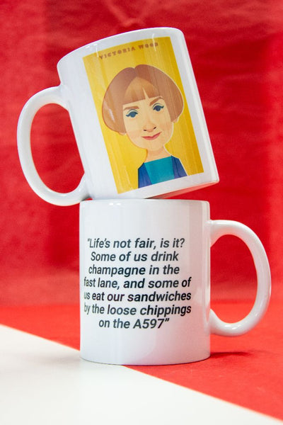 Victoria Wood Mug Designed by Stanley Chow