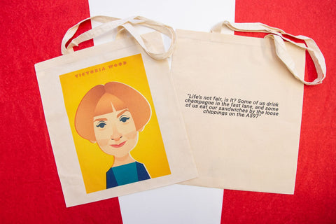 Victoria Wood Tote Designed by Stanley Chow