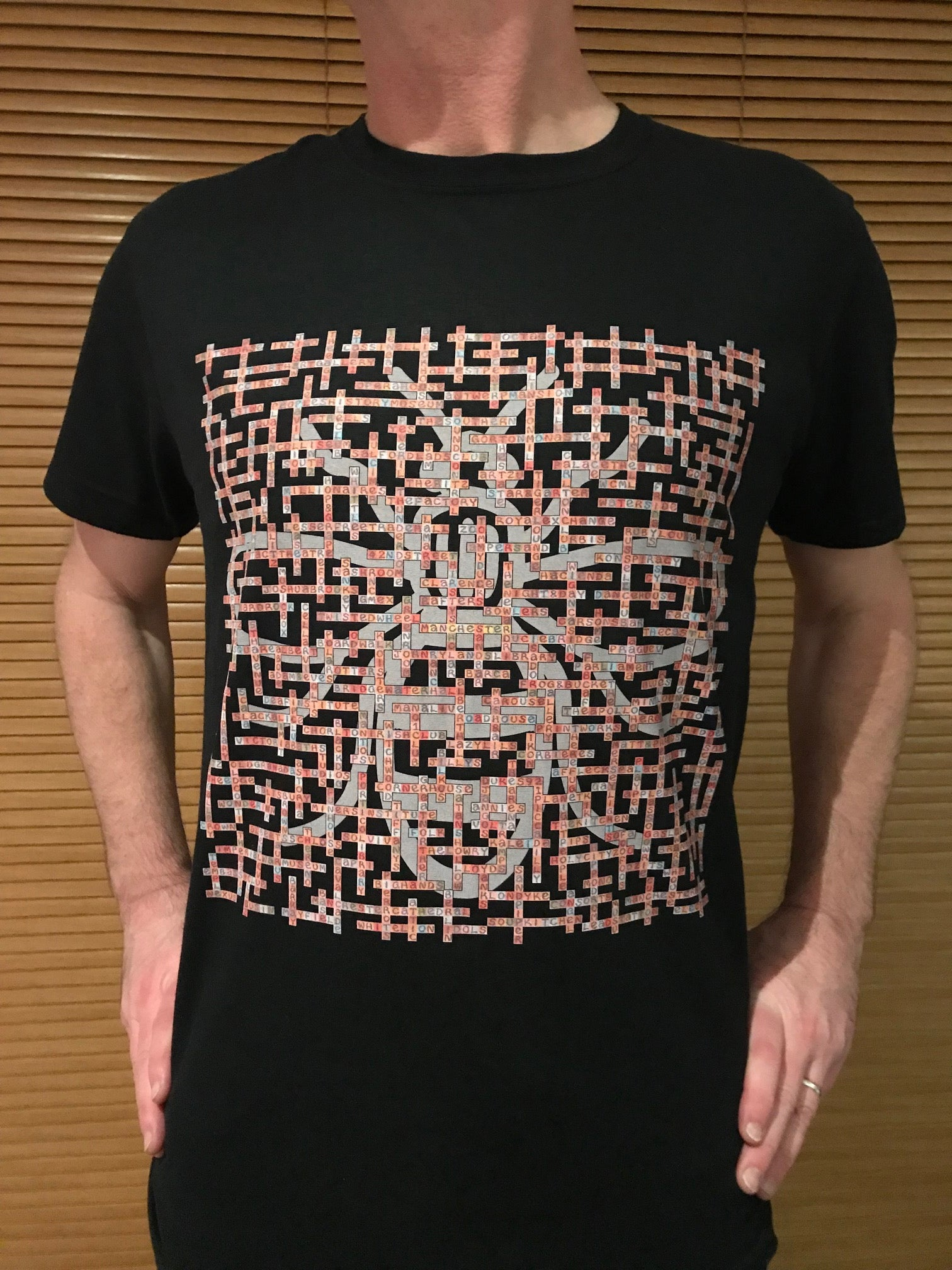 Name-Chains - Manchester Gig Venues T-Shirt