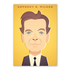 Anthony H Wilson Print - Great Northerners by Stanley Chow
