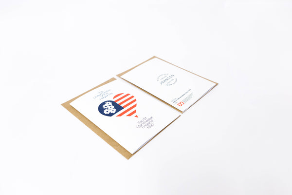 USA Tour A6 Greetings Card