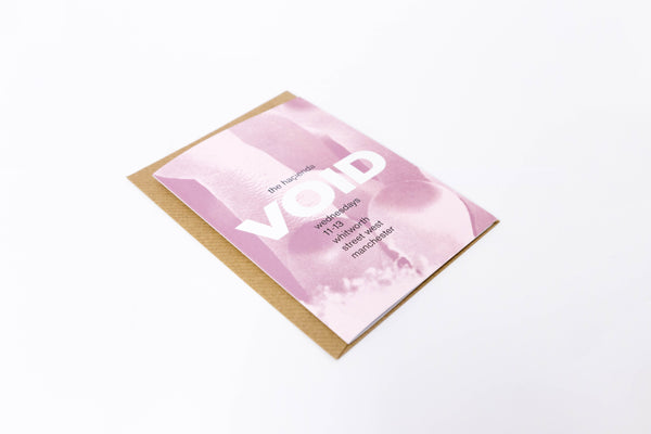 Void A6 Greetings Card