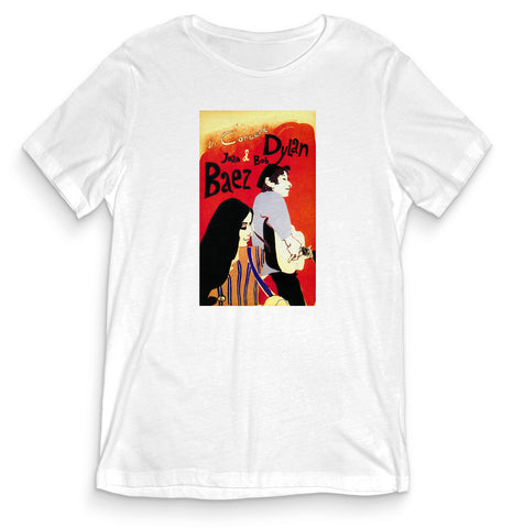 TeesBlitz Collection T-Shirt maglia Baez & Dylan Propaganda PROP002