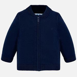 Mayoral Navy Zipper Sweater