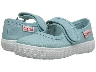 Cienta Girls Light Blue Canvas Shoe