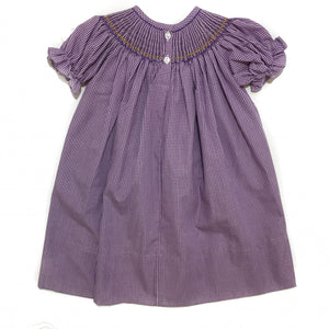 Banbury Purple Gingham Cheerleader Bishop