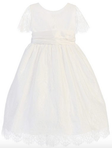 Sweet Kids French Lace Dress
