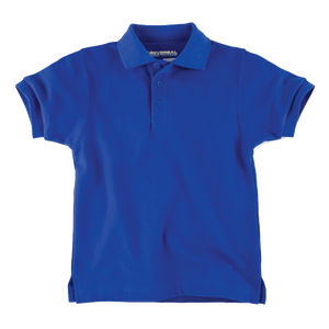 Universal Solid Polo Shirt Royal