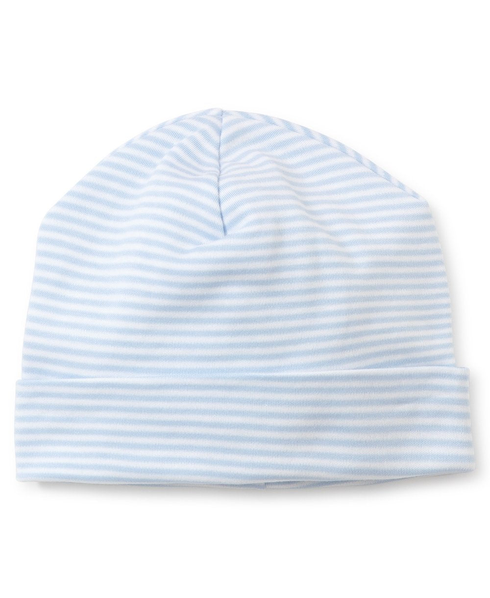 Kissy Kissy Striped Hat Lt Blue