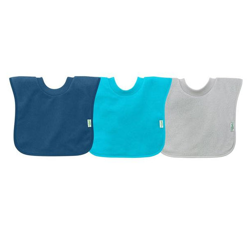 Green Sprouts Blue Pull Over Toddler Bibs