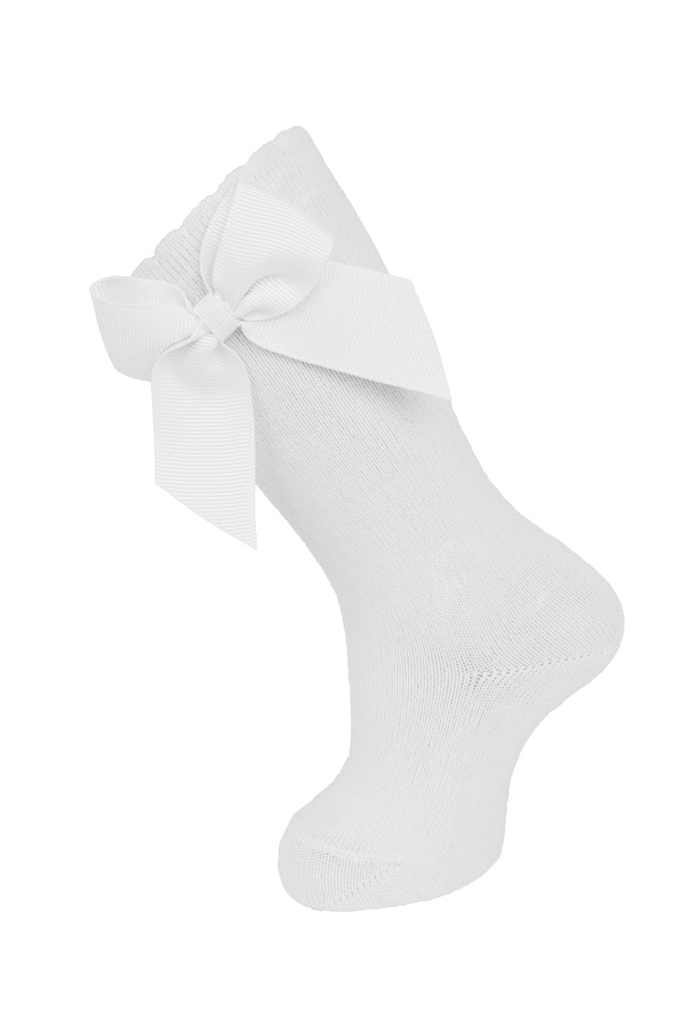 Knee Sock with Grosgrain side bow
