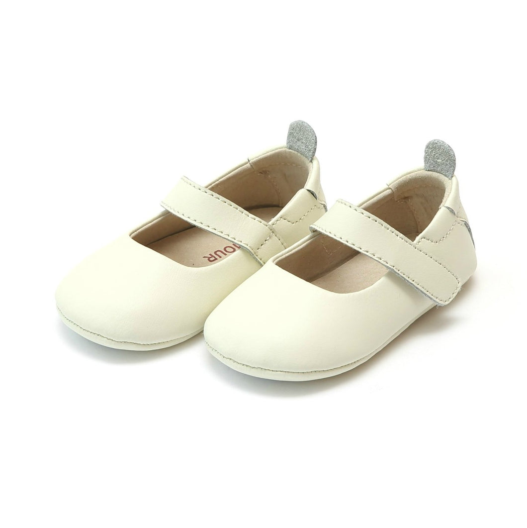 Charlotte Cream Soft Leather Mary Jane
