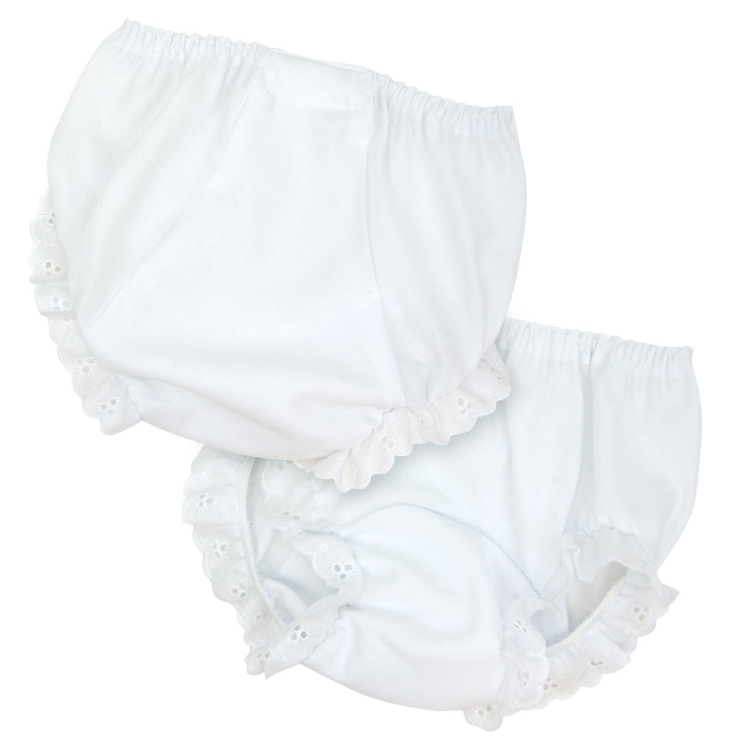 New ICM Diaper Cover With Eyelet