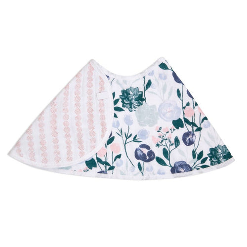 A+A  Flowers Bloom/English Garden Burpy Bib