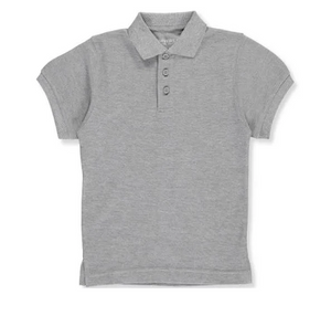 Universal Solid Polo Shirt Heather Grey