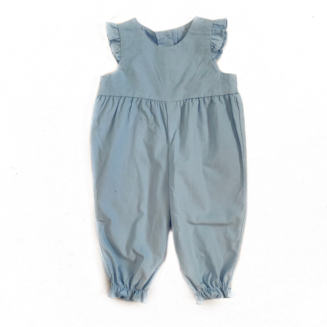 Banbury Cross Light Blue Corduroy Girl Longall