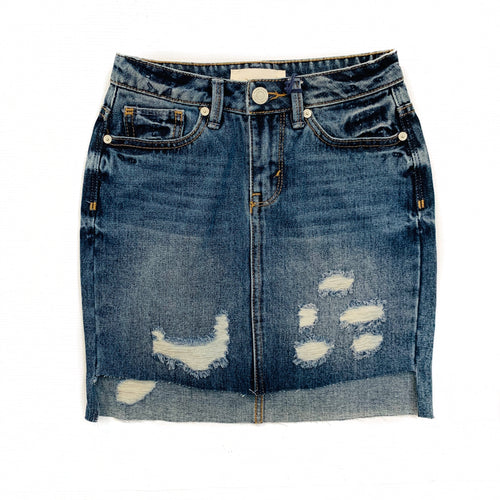 Habitual Denim Skirt