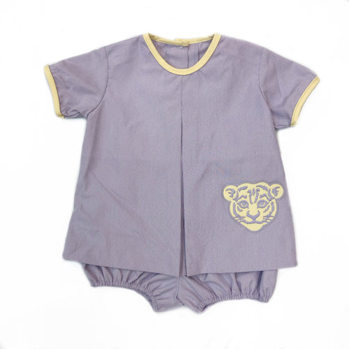 Banbury Cross Tiger Pocket Boy Bloomer Set