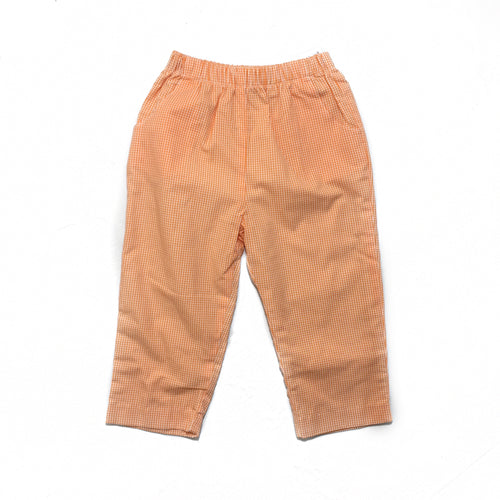 Banbury Orange Long Elastic Waist Lined Pant