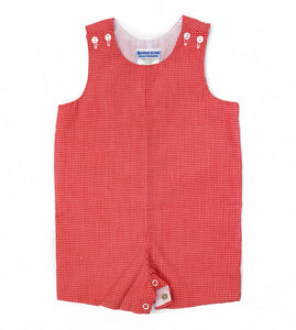 Banbury Basic Shortall Red Gingham