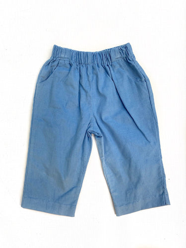 Banbury Cross Party Blue Corduroy Pant