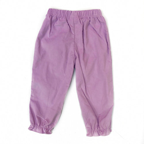 Banbury Lavander Corduroy Girl Long Bloomer