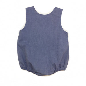 Banbury Button Shoulder Bubble Royal Micro
